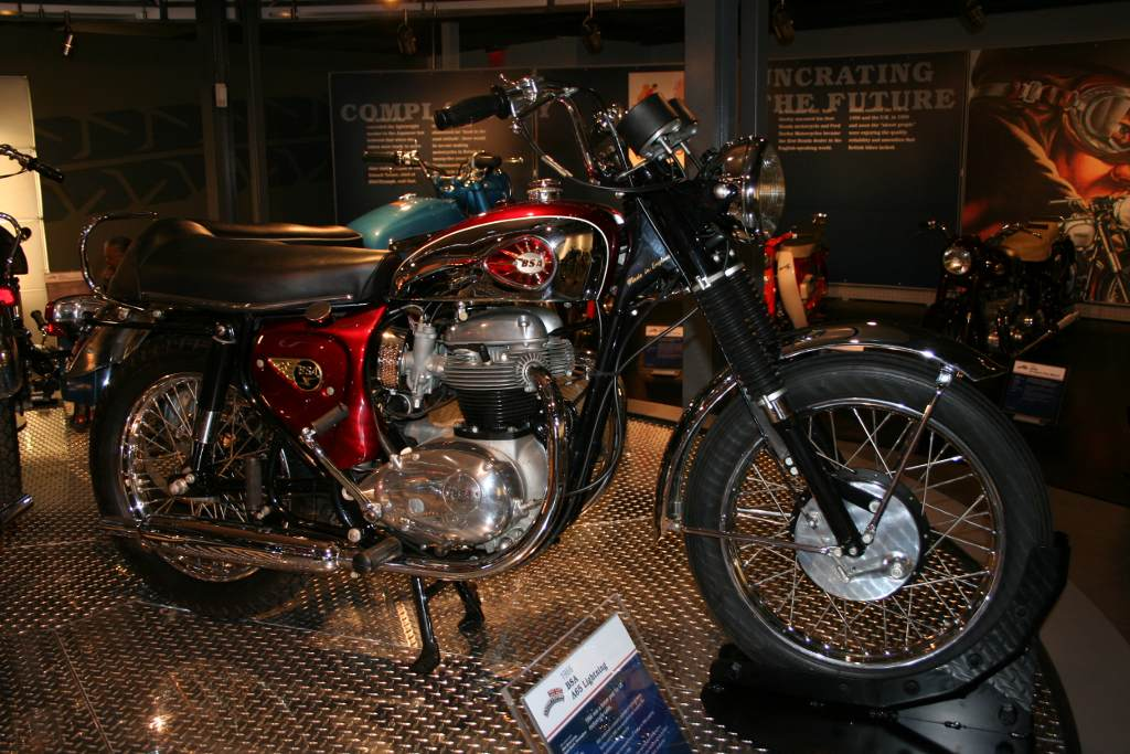 Very canadian vintage motorcycle museum