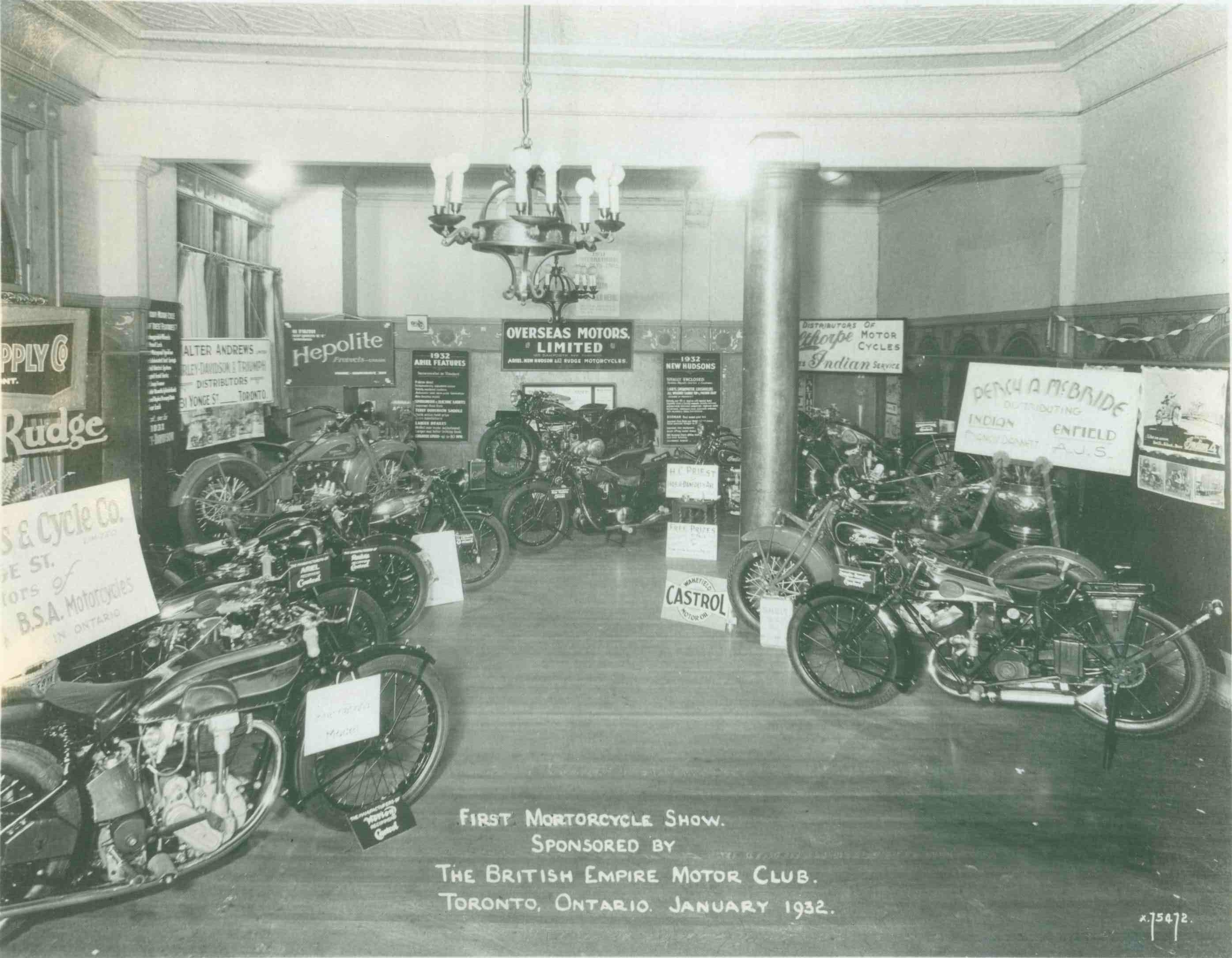 Motorcycle Dealers Toronto >> Canadian Vintage Motorcycle Group Cvmg Brown In Toronto